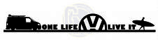 One Life Live It T5 Camper Vinyl Sticker Decal